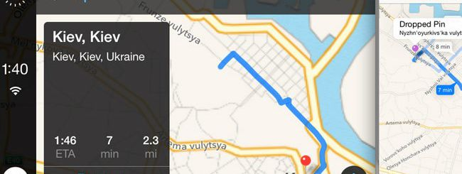Un primo sguardo a iOS in the Car