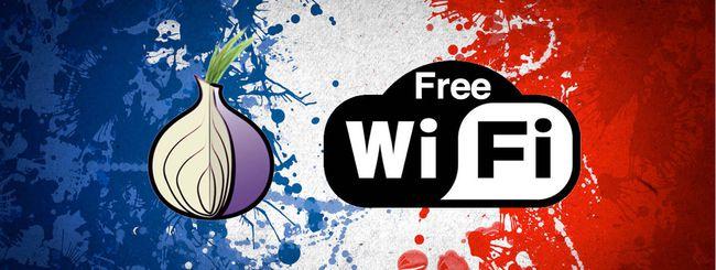 Terrorismo, la Francia vuole bloccare WiFi e Tor?
