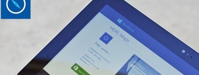 Nokia pubblica HERE Maps per il Lumia 2520
