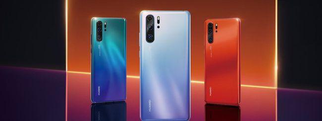 Huawei P30 e P30 Pro, foto in alta risoluzione