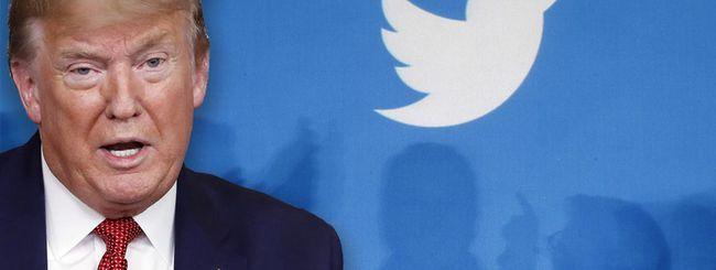 Ban di Trump, crollo in borsa per Twitter e Facebook