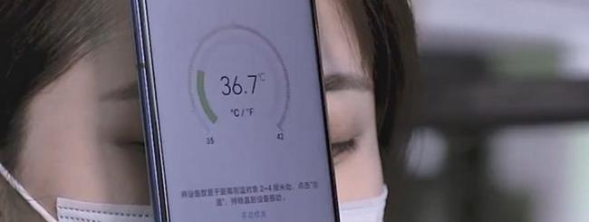 Honor Play 4 Pro ti può misurare la temperatura