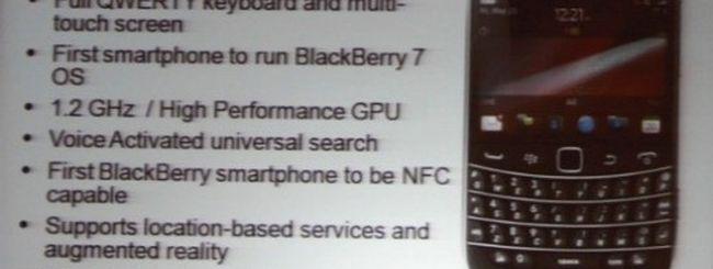 BlackBerry Bold 9900 e 9930 svelati da RIM, con OS 7