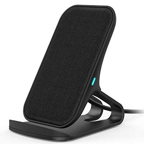 Lecone Caricatore Wireless con Tessuto, Supporto di Ricarica Wireless Qi