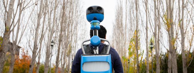 Google aggiorna il Trekker: più piccolo e leggero