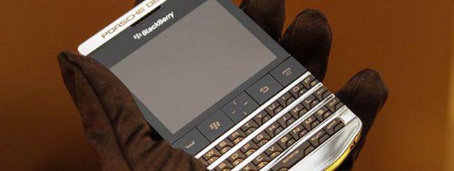 BlackBerry Porsche Design P'9981, edizione limitata in titanio