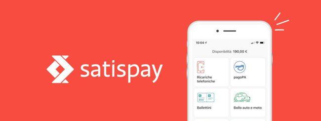 Satispay lancia il nuovo servizio Bollettini