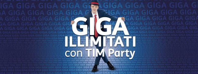 TIM, Giga illimitati con TIM Party