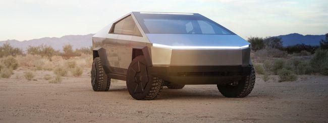 Tesla Cybertruck, pickup elettrico da fantascienza