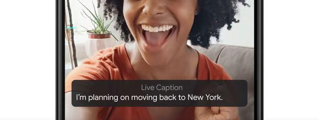 Google Live Caption