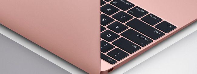 MacBook anche in rosa e più RAM per MacBook Air