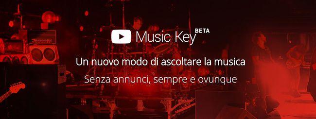 YouTube Music Key: fine beta, arriva YouTube Red