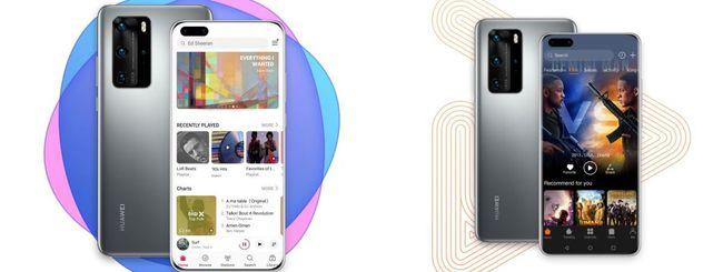 Huawei Music e Video disponibili in Europa