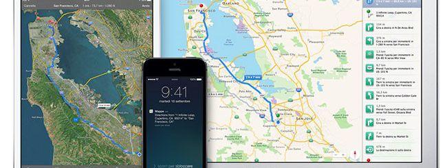 Mappe di iOS: arriva la class action