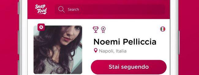 SnapFood, social network per il cibo
