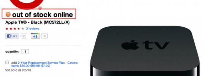 Anche le Apple TV scarseggiano, nuovo modello in arrivo?