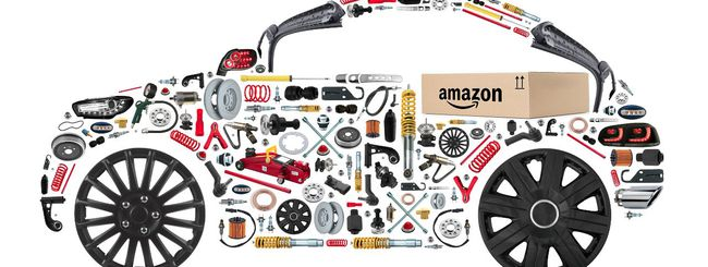 I ricambi per le auto si trovano su Amazon