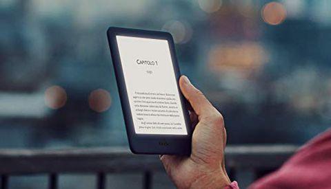 Kindle con luce frontale integrata (con pubblicità) - Bianco