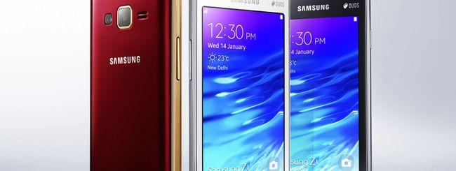 Samsung Z1, primo smartphone Tizen in vendita