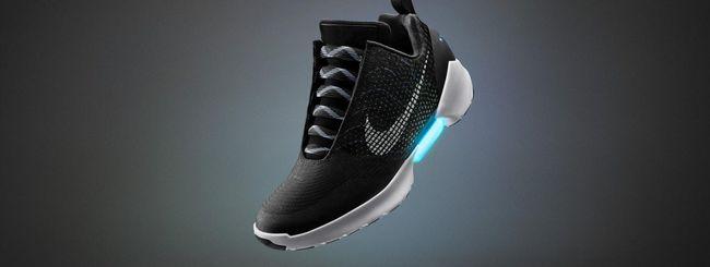Nike HyperAdapt 1.0, ecco le scarpe self-lacing