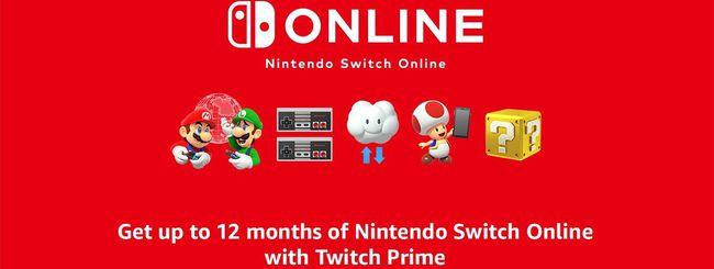 Twitch Prime, un anno di Nintendo Switch Online