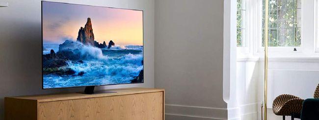 Le TV Samsung in offerta per il Natale di Amazon