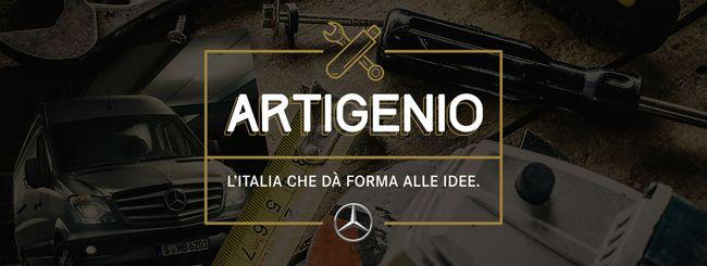 Artigenio: Mercedes-Benz investe nel genio italico