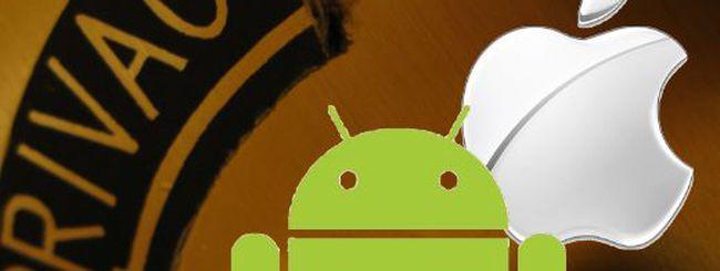 La FTC indaghi sulla privacy di iOS e Android