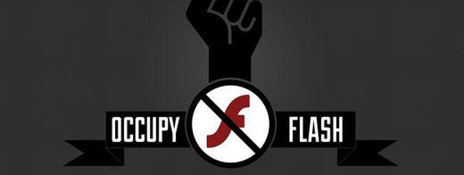 Occupy Flash, per abbandonare Flash