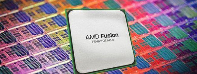 AMD: trimestrale positiva grazie alle APU