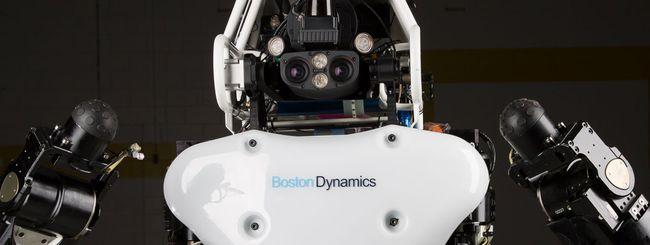 DARPA presenta la nuova versione del robot Atlas