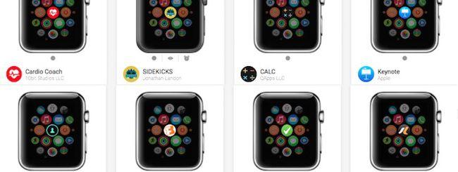 Apple Watch, ecco tutte e 2.178 le app compatibili