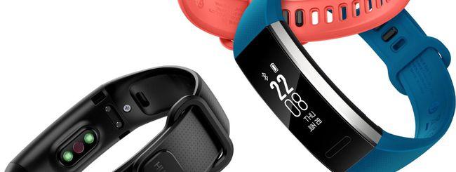 Band 2 e Band 2 Pro, nuovi fitness tracker Huawei