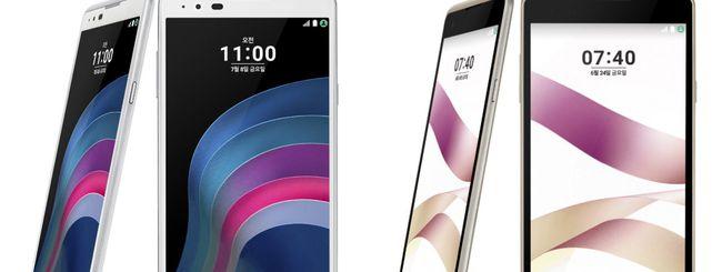 LG annuncia altri due smartphone serie X