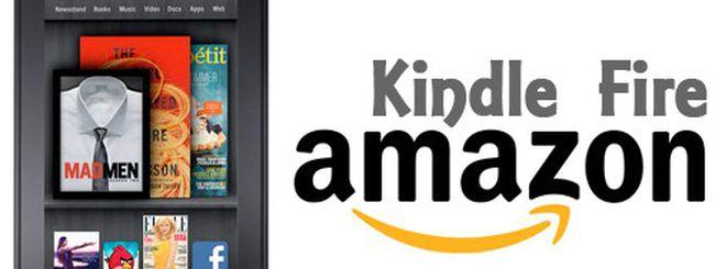 Amazon Kindle Fire, la sfida all'iPad da 199 dollari