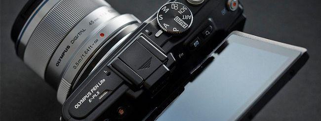 Olympus PEN E-PL5 e E-PM2: firmware per le ottiche