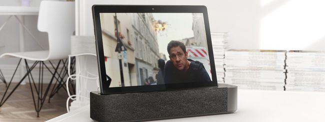Lenovo Smart Tab, smart display e tablet pc con Android