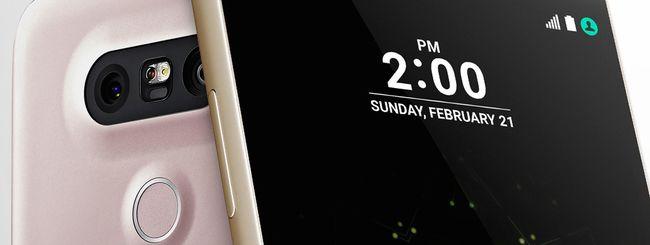 LG conferma: il G5 è realizzato in alluminio