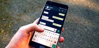 WhatsApp installato su uno smartphone
