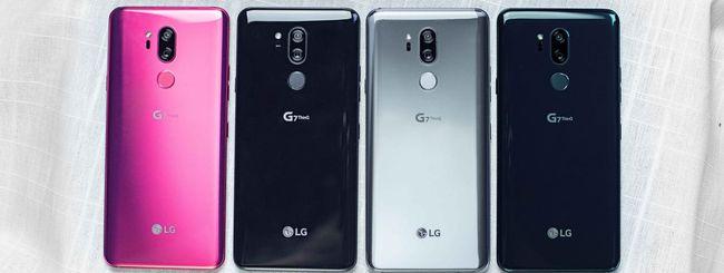 LG avvia le vendite del nuovo G7 ThinQ