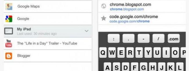 Google Chrome arriva su iPhone e iPad