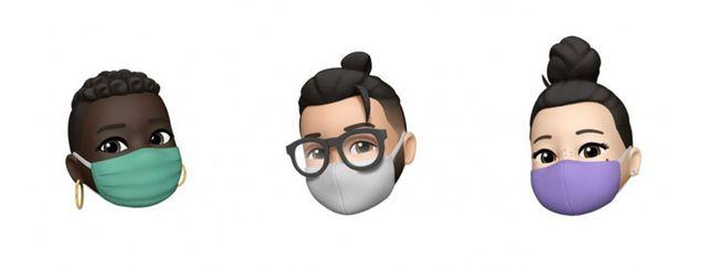 Apple, i Memoji potranno indossare la mascherina
