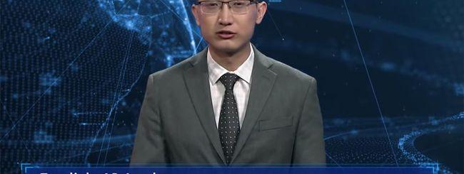 Intelligenza artificiale conduce e legge le news