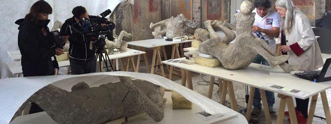 I calchi di Pompei riprodotti con le stampanti 3D