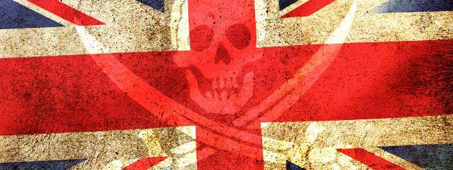 Giro di vite contro la pirateria nel Regno Unito