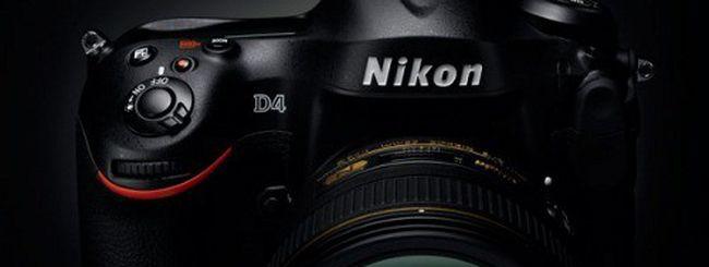 Nikon D4, nuovo aggiornamento firmware 1.02
