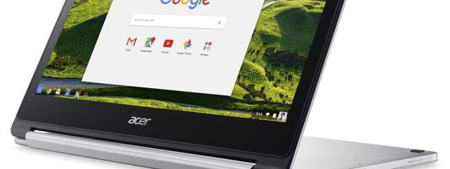IFA 2016: Acer Chromebook R 13, convertibile