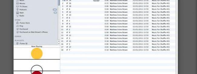 Matthew Irvine Brown: un album scritto per iPod shuffle