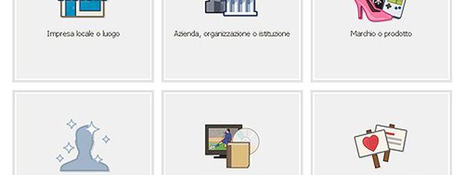 Novità Facebook: il profilo può diventare una Pagina