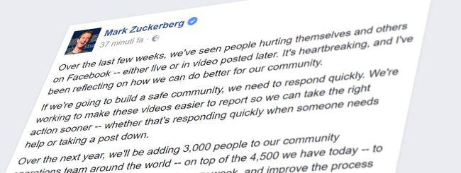 Facebook, controlli più rapidi grazie all'uomo